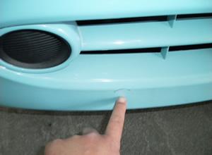 バンパー修理②