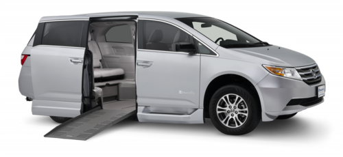 USオデッセイ X ブラウンアビリティ 自操式車両の福祉車両改造事例5