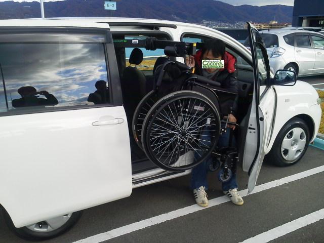 トヨタ シエンタ X カロリフト40 の福祉車両改造事例2