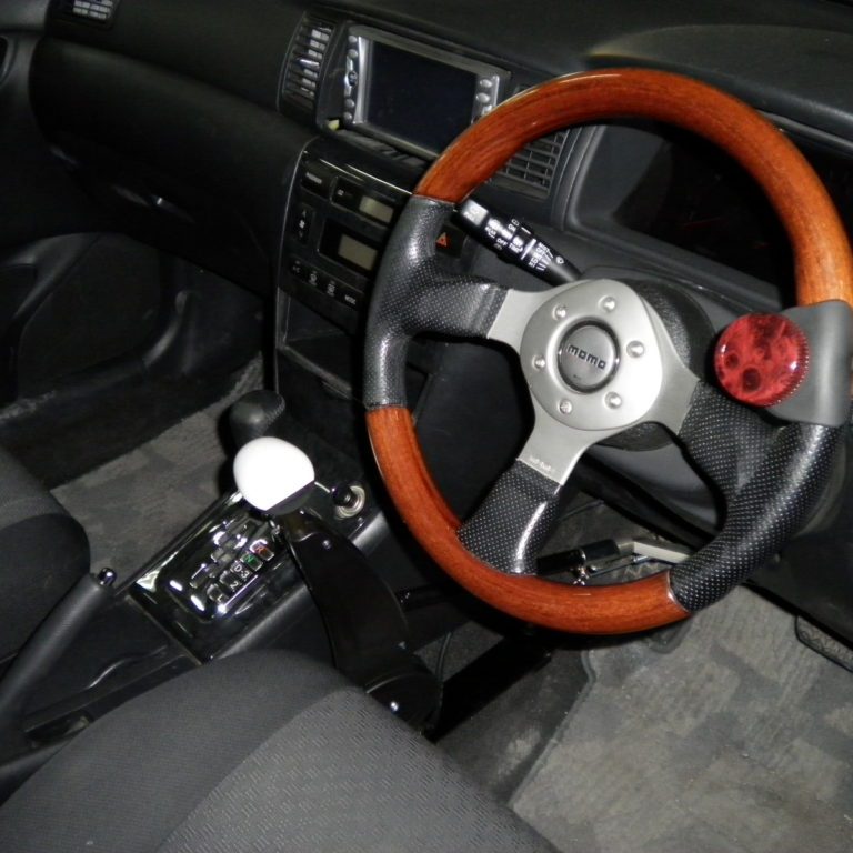 トヨタ カローラフィールダー X カロスピードメノックス