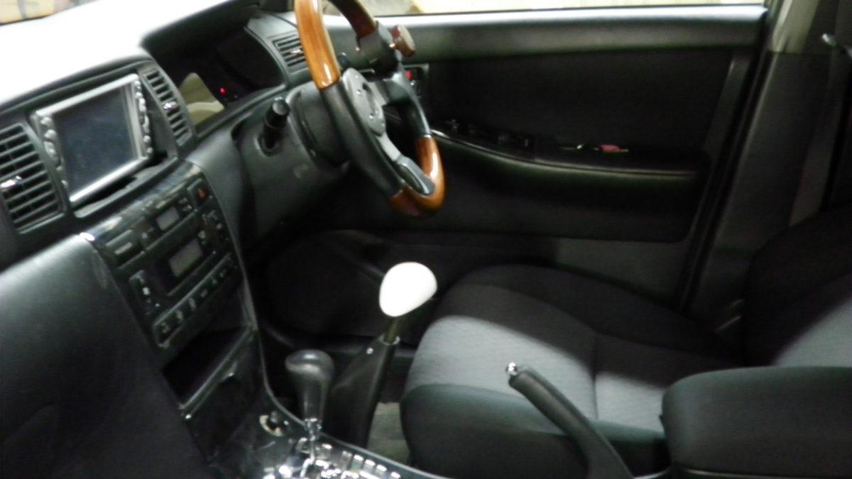 トヨタ カローラフィールダー X カロスピードメノックスの福祉車両改造事例4