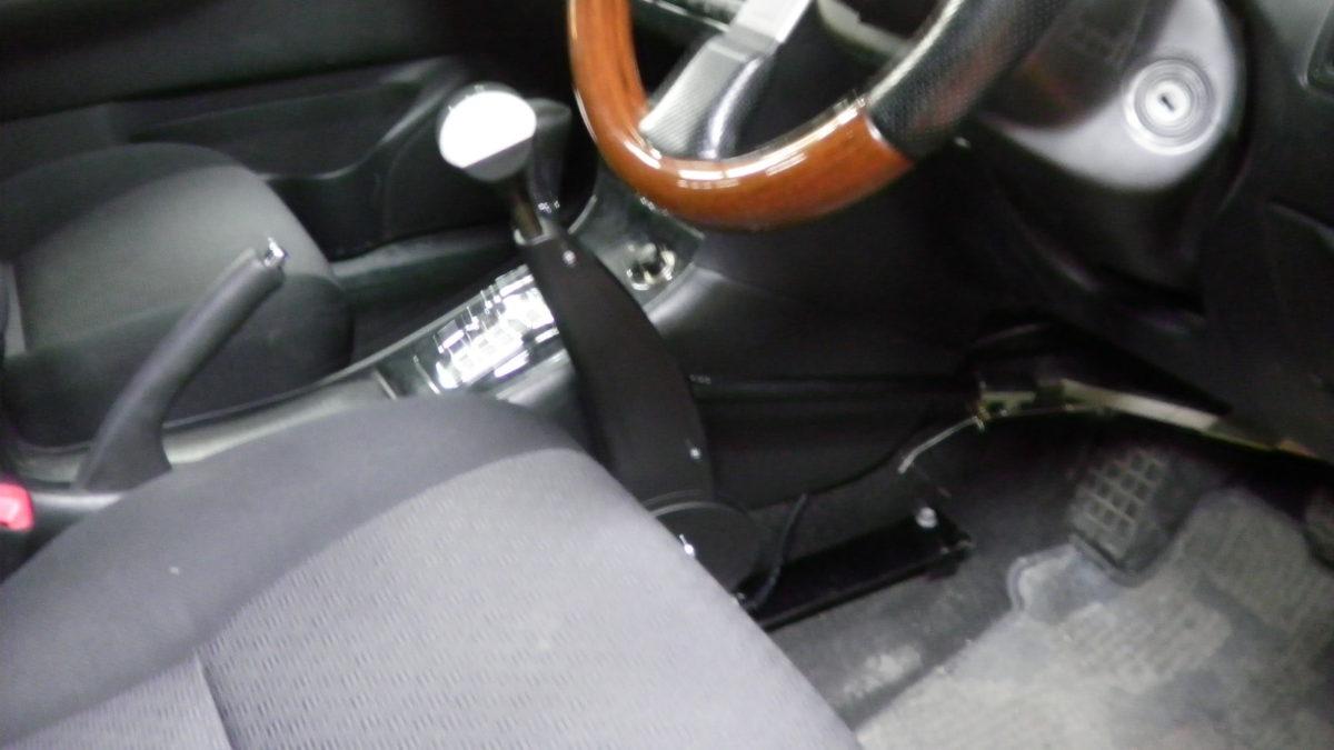 トヨタ カローラフィールダー X カロスピードメノックスの福祉車両改造事例6