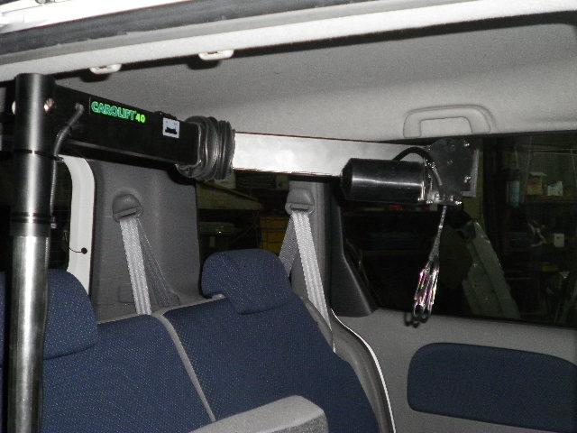 トヨタ シエンタ X カロリフト40 の福祉車両改造事例4