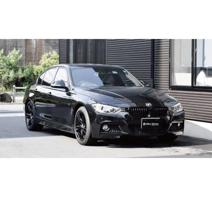 BMW 328ⅰX アクセルリング&ブレーキシステムの福祉車両改造事例1