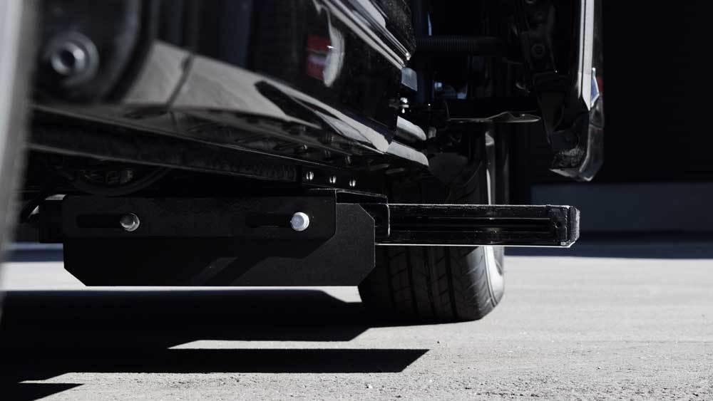 アルファード X 補助ステップの福祉車両改造事例3
