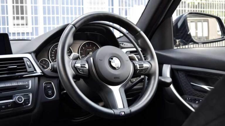 BMW 328ⅰX アクセルリング&ブレーキシステムの福祉車両改造事例5