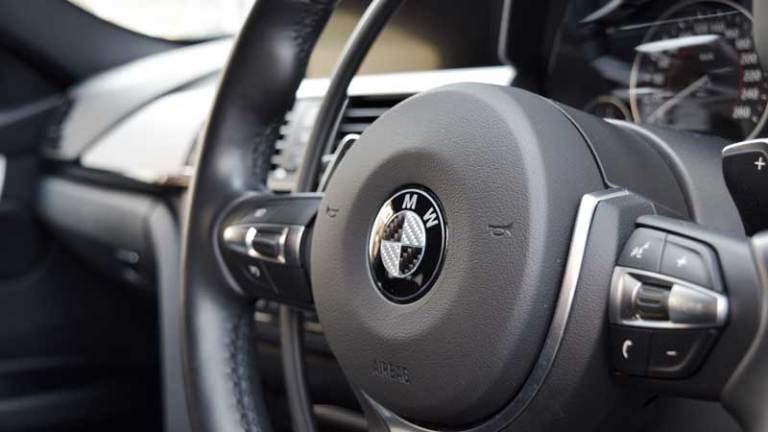 BMW 328ⅰX アクセルリング&ブレーキシステムの福祉車両改造事例2