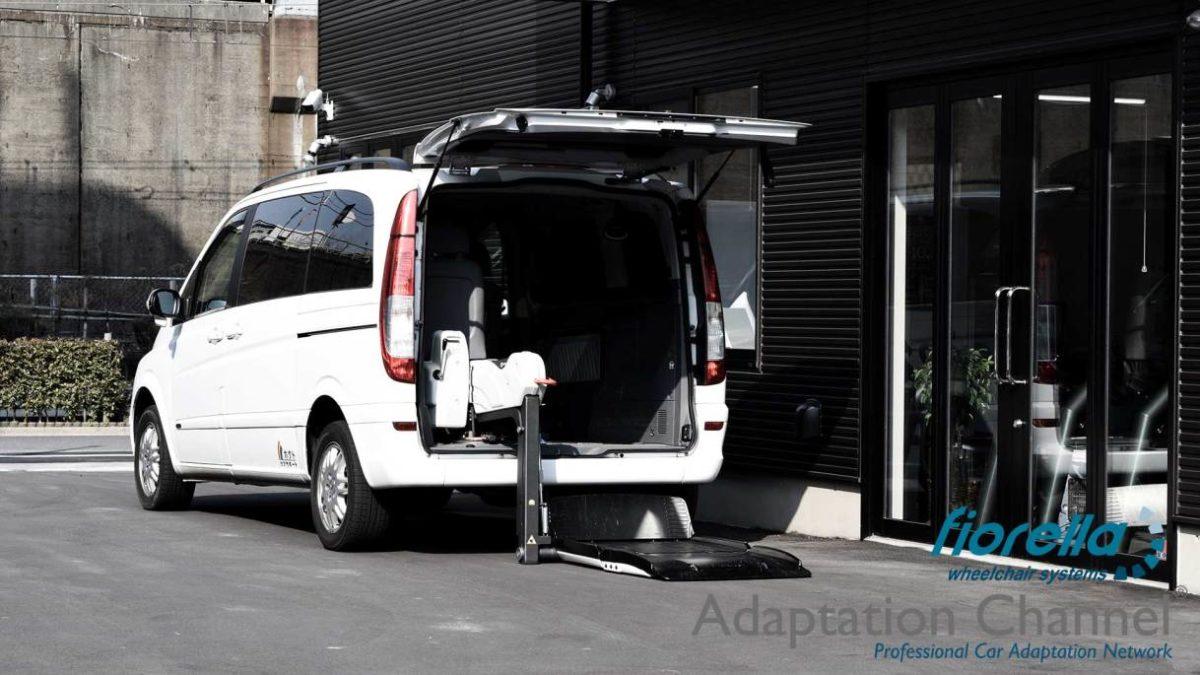 メルセデスベンツ Vクラス X フィオレラリフトF360の福祉車両改造事例2