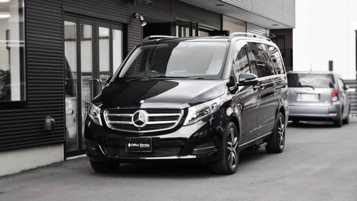 メルセデスベンツVクラス X 補助ステップの福祉車両改造事例1