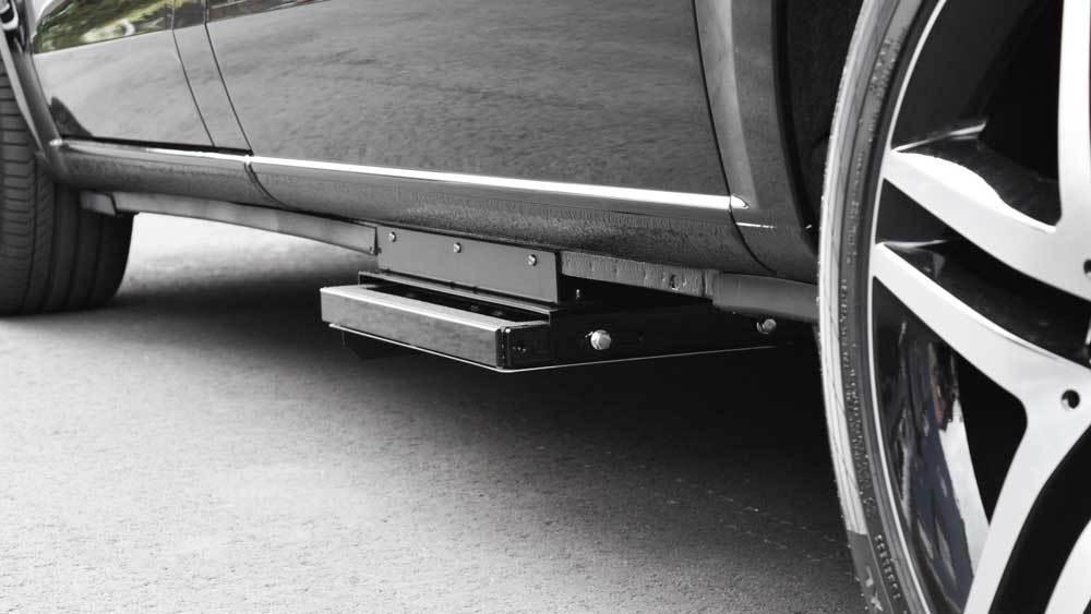 メルセデスベンツVクラス X 補助ステップの福祉車両改造事例3