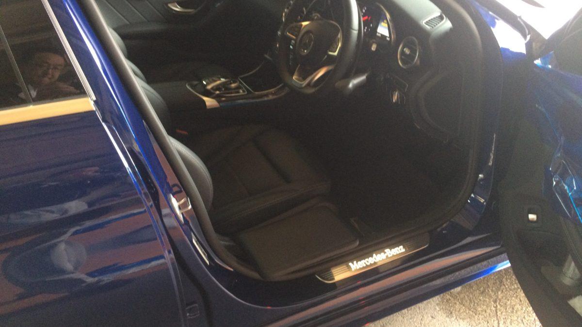 メルセデスベンツCクラス X サイドサポートシート 可倒式の福祉車両改造事例5