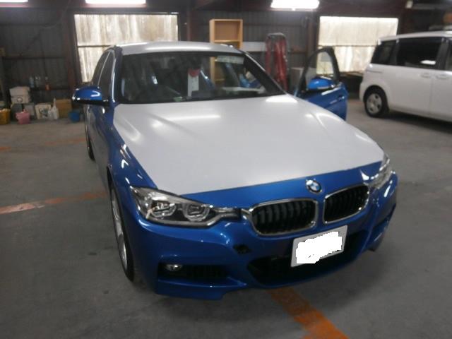 BMW 328ⅰ X ターンアウトwithレカロの福祉車両改造事例1