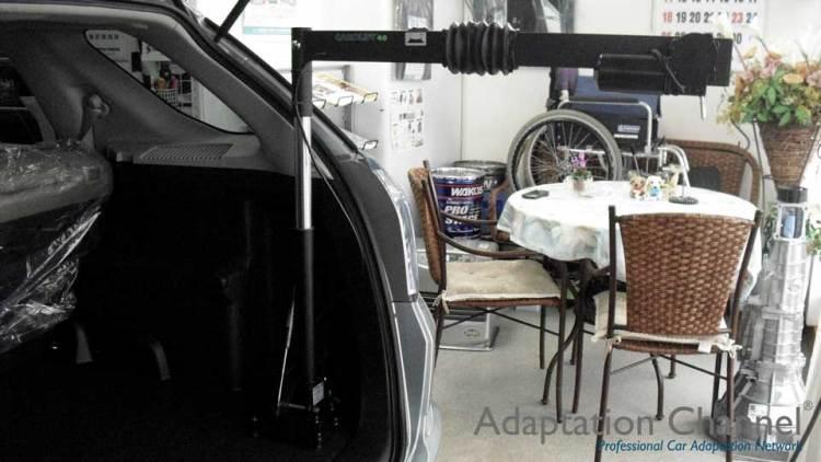 ホンダ フィット  X  カロリフト40の福祉車両改造事例3