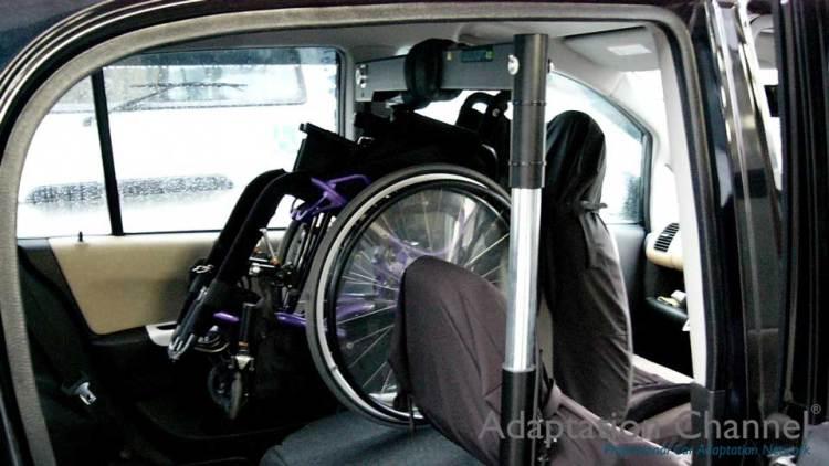 ホンダ ライフ  X  カロリフト40 運転席verの福祉車両改造事例2