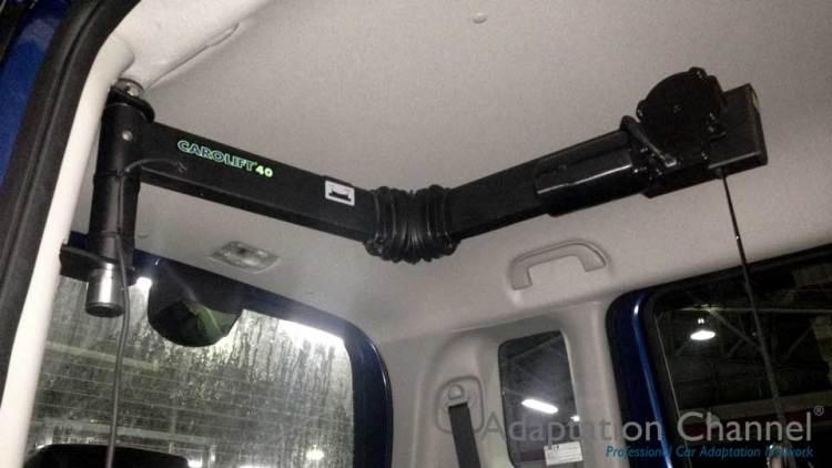 ホンダ N-BOX  X  カロリフト40の福祉車両改造事例3