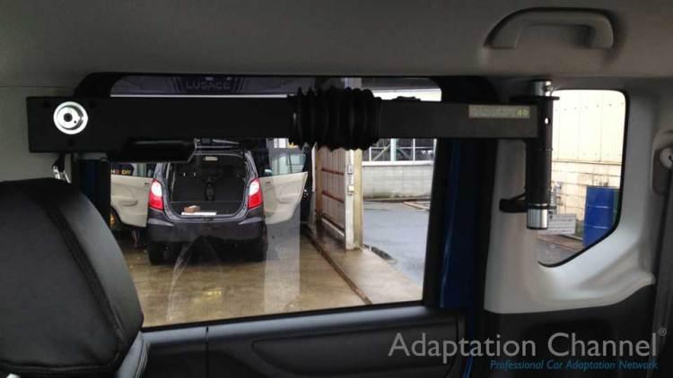 ホンダ N-BOX  X  カロリフト40の福祉車両改造事例4