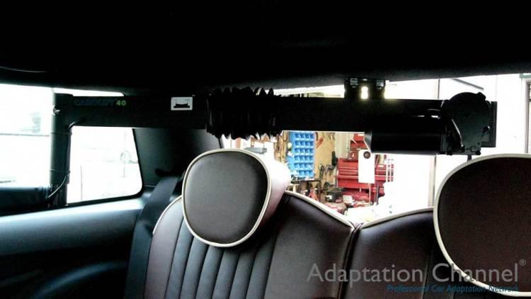 BMW MINI  X  カロリフト40改の福祉車両改造事例2