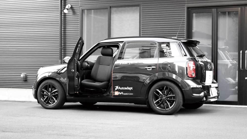 BMW MINI クロスオーバー X ターンアウトの福祉車両改造事例2