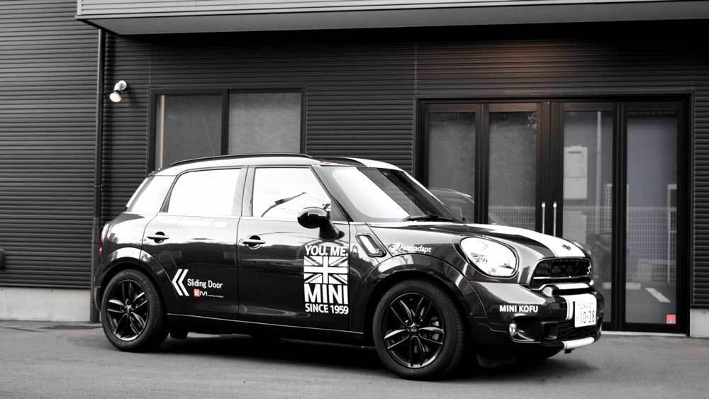 MINIクロスオーバー X  KIVIスライドドアシステムの福祉車両改造事例4