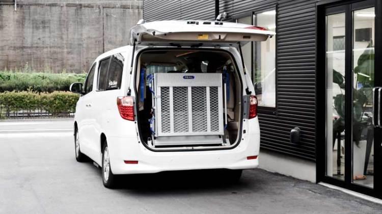 アルファード X  車いすスロープ の福祉車両改造事例5