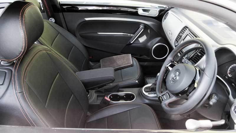 ザ・ビートル X アクセルリング&ブレーキレバーの福祉車両改造事例2