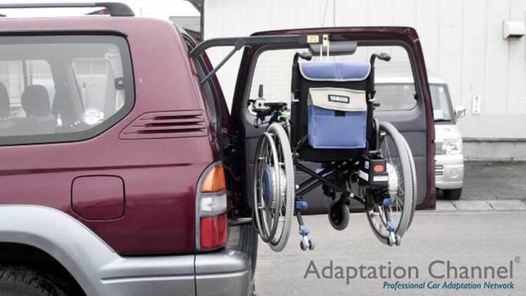 トヨタ ランドクルーザープラド  X  カロリフト90の福祉車両改造事例2
