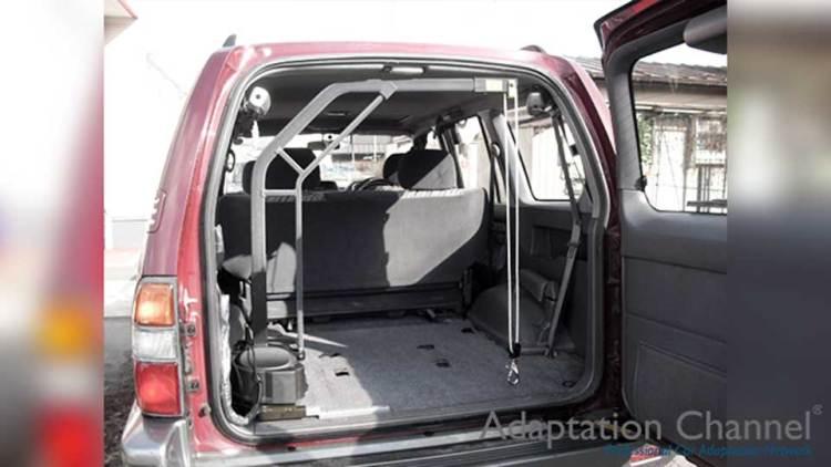 トヨタ ランドクルーザープラド  X  カロリフト90の福祉車両改造事例4