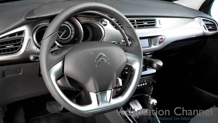 シトロエンDS3 X アクセルリング&ブレーキシステムの福祉車両改造事例3