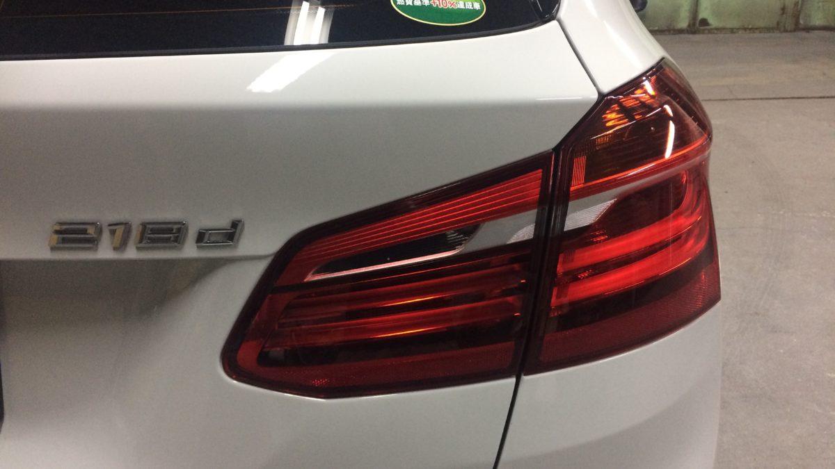 BMW 218i グランドツアラー X アクセルリング&左ブレーキレバーの福祉車両改造事例3