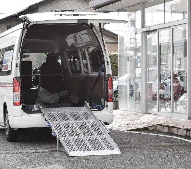 トヨタ ハイエース X 車両用 スロープ