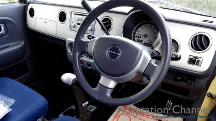 スズキ ラパン X カロスピードメノックスの福祉車両改造事例2