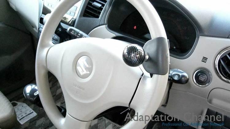 スズキ パレット X カロスピードメノックスの福祉車両改造事例2