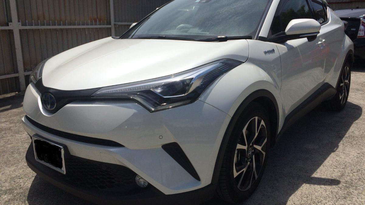 トヨタ C-HR X ターニーEVOの福祉車両改造事例1