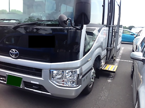 【新発売!】 後付!電動補助ステップ~マイクロバス営業車用補助ステップ~