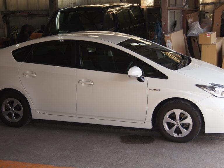 トヨタ プリウス X 見えるブレーキレバー(LF901ブレーキシステム)