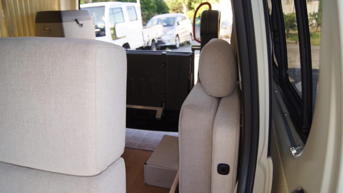 車いすリフト付きキャンピングカー 『アウラベース・リアエントリーモデル』の福祉車両改造事例13