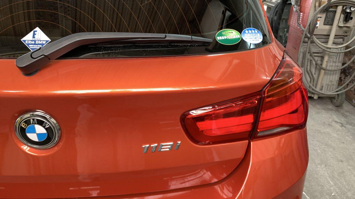 BMW 118ⅰ×補助ブレーキレバー(KIVI-LF901)の福祉車両改造事例1