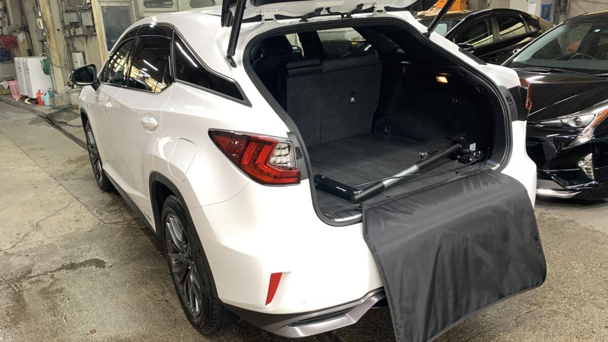【改造事例】レクサスRX450h ✖ カロリフト40の福祉車両改造事例3