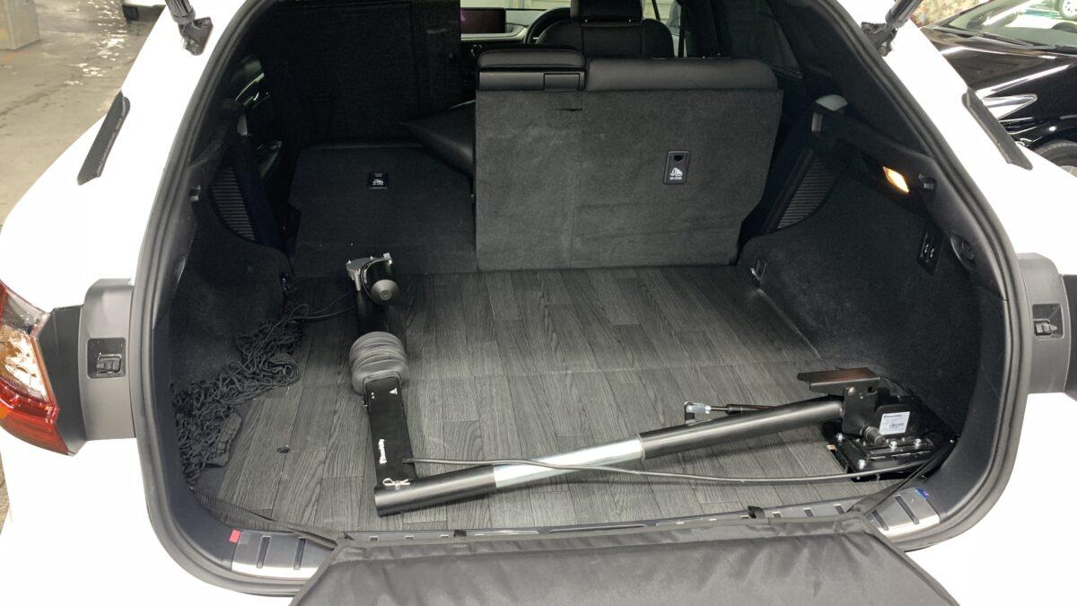 【改造事例】レクサスRX450h ✖ カロリフト40の福祉車両改造事例5